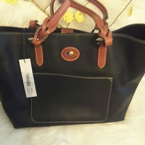 4c948ae3f dooney and Bourke Bags - Dooney and Bourke Tammy tote genuine leather bag